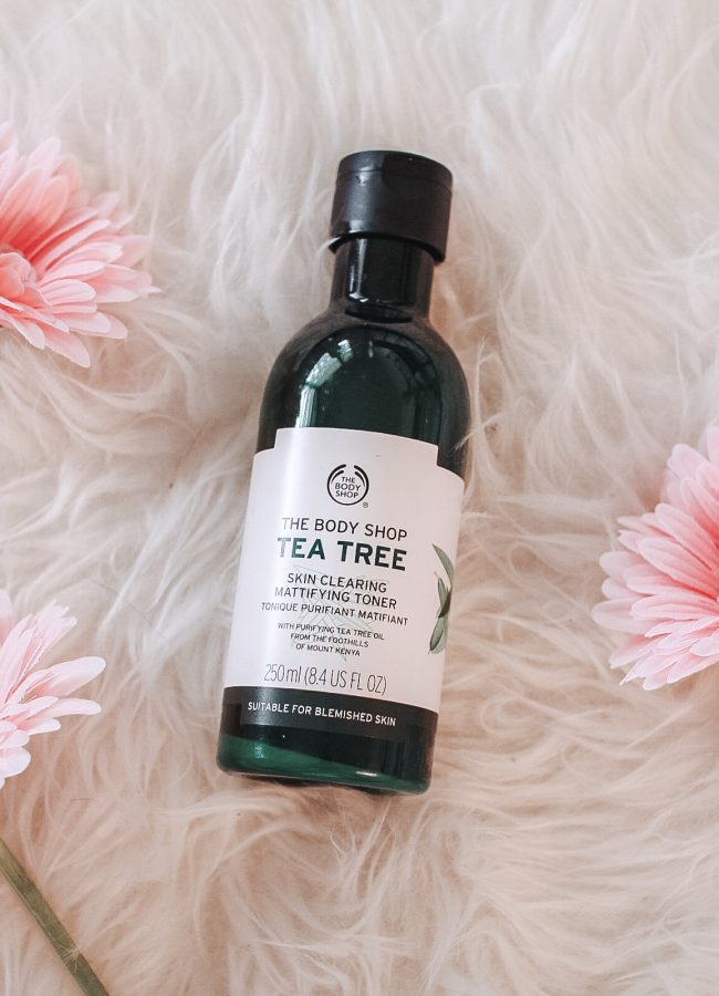 The Body Shop Tea Tree Toner Review