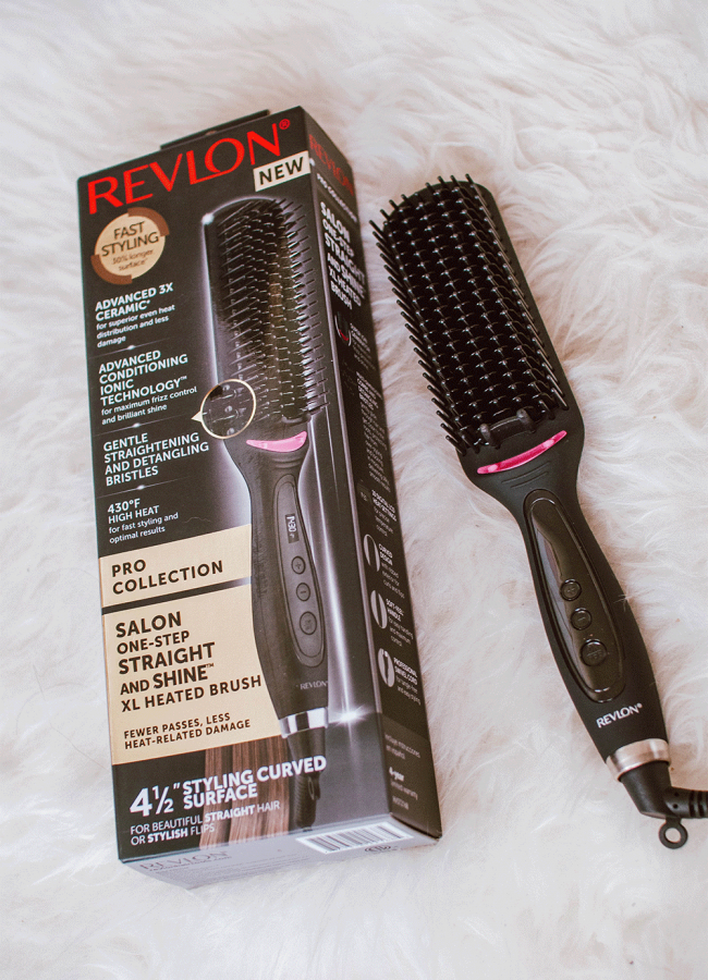 Revlon Salon One Step Hair Straightening Brush Review