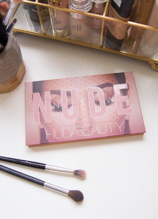 Huda Beauty The New Nude Eyeshadow Palette Review