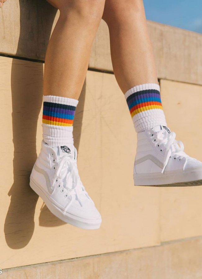 What to Wear With High Top Vans