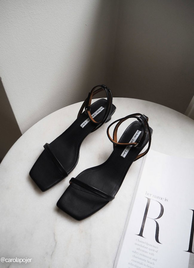 The 90's Square Toe Sandals are BACK