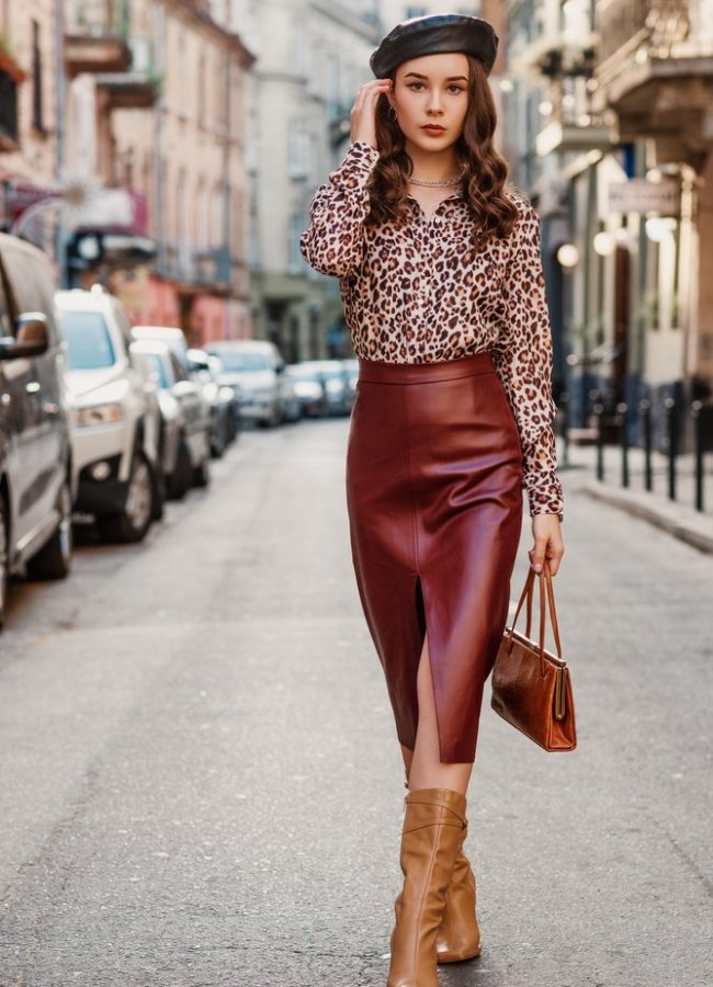 35 Cute Outfits With Brown Boots